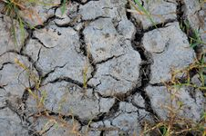 Free Textures And Patterns Of A Cracked Dry Soil Royalty Free Stock Photography - 18603267