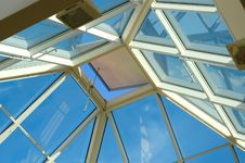 Window In The Sky Stock Image