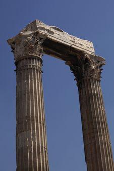 Free Temple Of Olympian Zeus Stock Photos - 18603963