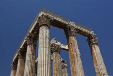 Free Temple Of Olympian Zeus Stock Photos - 18604033