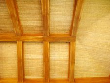 Free Wooden Roof Royalty Free Stock Photo - 18604515
