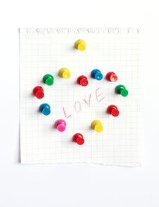Free Valentine Card Royalty Free Stock Photos - 18604518