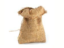 Free Burlap Gift Sack Stock Photography - 18604792
