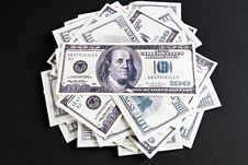 Heap Of Dollars Stock Image