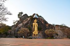 Free Image Of Buddha At Mountain Royalty Free Stock Photo - 18605185
