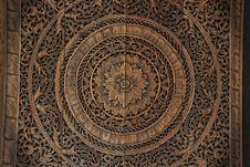 Free Thai Wood Handicraft Royalty Free Stock Photography - 18605837