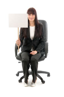 Sales Woman Stock Image