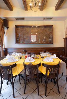 Free Restaurant Interior Stock Images - 18606804