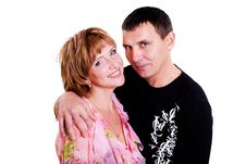 Free Portrait Of A Pair Of Middle-aged Royalty Free Stock Photos - 18608428