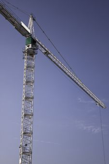 Free Photos Of High-rise Construction Cranes Royalty Free Stock Images - 18608939