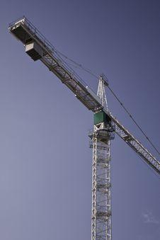 Free The Crane On Construction. Stock Photo - 18608970