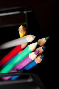 Free Pencils Stock Photography - 18609322