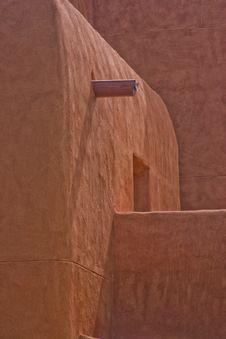 Free Adobe Walls Of San Francisco De Asis Church Royalty Free Stock Photos - 18609418