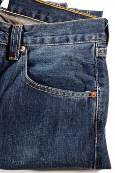 Free Blue Jeans Royalty Free Stock Photo - 18609635