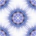 Free Blue Star Ornamental Tile Stock Photography - 18612472