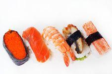 Free Japanese Sushi Ready To Eat Stock Photos - 18610093