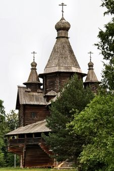 Free Russia: Old Wooden Architechture Stock Photos - 18611243