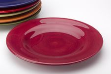 Free Ceramic Plates Royalty Free Stock Image - 18611466