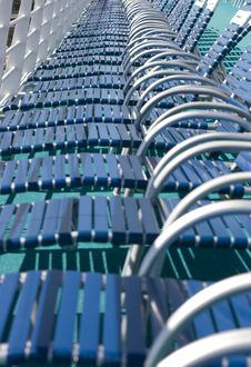 Free Deck Chairs Stock Image - 18611861