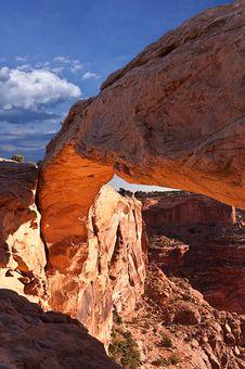 Free Mesa Arch Stock Image - 18612631