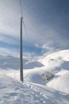 Electricity Poles Stock Photos