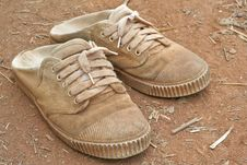 Free Old Shoe Stock Photography - 18613162