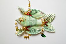Free Thai Banknote Twenty Bath Folded Into A Fish Royalty Free Stock Photos - 18613418