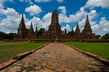 Free Temple Old In Ayutthaya Stock Images - 18614684
