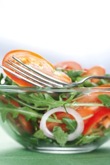 Free Healthy Green Salad Stock Photography - 18614992