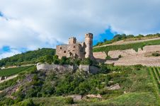 Old Castle Royalty Free Stock Photography