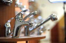 Free Silver Metallic Water Tap Stock Photo - 18617170