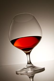 Free Cognac Glass Royalty Free Stock Image - 18617856