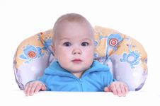 Small Beautiful Baby Boy Stock Images