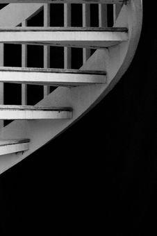 Stairwell Stock Photo
