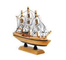 Free Sail Ship Model Stock Photo - 18618900