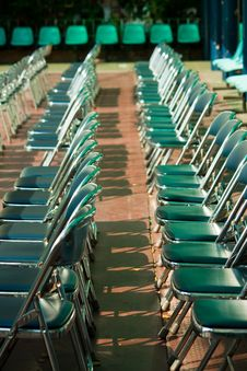 Free Chairs Royalty Free Stock Photo - 18619155