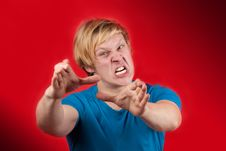Free Angry Man Stock Photography - 18619312