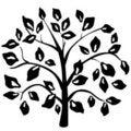 Free Black Tree Stock Photo - 18622350