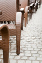 Free Sidewalk Cafe Chairs Royalty Free Stock Image - 18623206