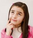 Free Girl Thinking Royalty Free Stock Photography - 18623407