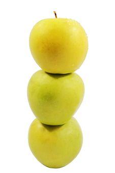 Free Three Apples Stock Photos - 18620423