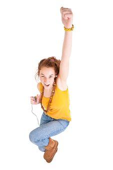 Free Beautiful Teen Girl Royalty Free Stock Image - 18620706