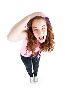 Free Beautiful Teen Girl Stock Photos - 18620813