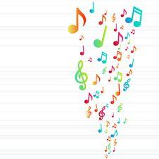 Free Music Background Stock Photo - 18622300