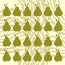Free Pear Background Stock Photography - 18622312