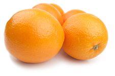 Free Five Fresh Orange Stock Photos - 18623383
