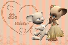 Free Be Mine Stock Photography - 18623872