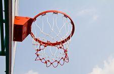 Basketball Board. Royalty Free Stock Image