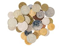Free Minor Coins Royalty Free Stock Images - 18624949