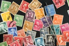 Free Postage Stamps Stock Photography - 18624952